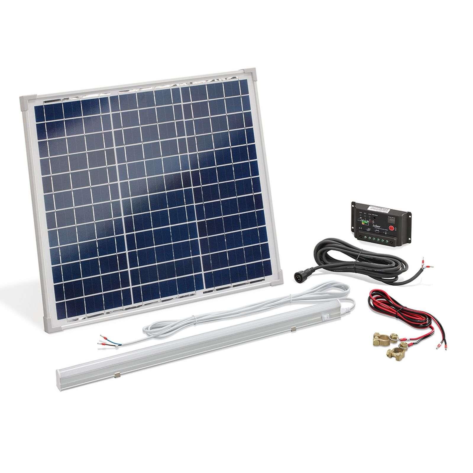 Esotec Solcells-strömset Multipower 30 W
