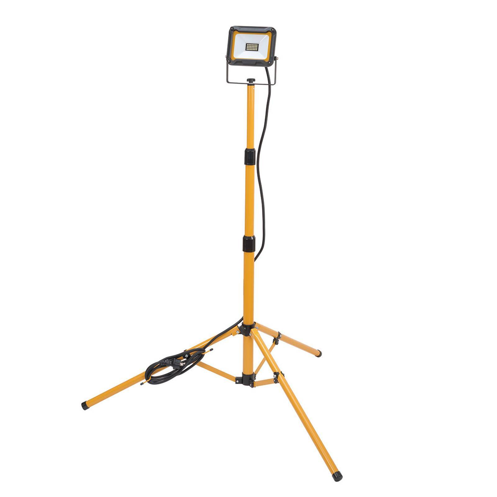 Brenenstuhl LED-arbetslampa Jaro med stativ IP65 1 lampa 20 W