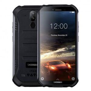 Doogee S40 vattentät & stöttålig smartphone - Svart