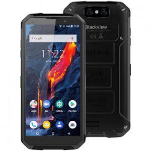 Blackview BV9500 Plus tålig telefon med stort batteri - Gul