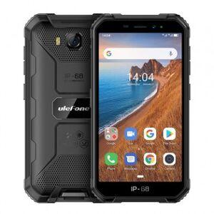 Ulefone Armor X6 tålig telefon med PTT-knapp - Svart