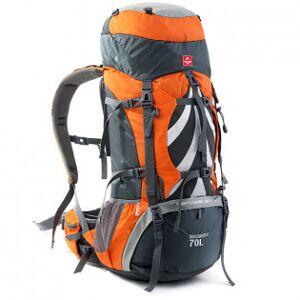 NatureHike vandringsryggsäck 70+5L - Svart & Grå