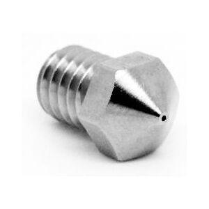 Micro Swiss Plated Wear Resistant nozzle for Wanhao i3 Mini / MP Select Mini / Mini Delta / ProFab Mini / Malyan M200 / PrimaCreator P120 - 0.20mm