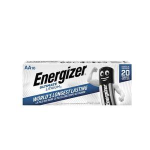Energizer Batteri Ultimate, litiumbatterier AA 1,5volt, ej laddningsbara