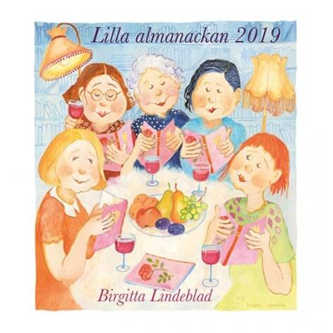 Birgitta Lindeblad Lilla kalendern 2019