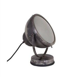 Strömshaga Vägg-/Bordslampa Spot Svart/Silver