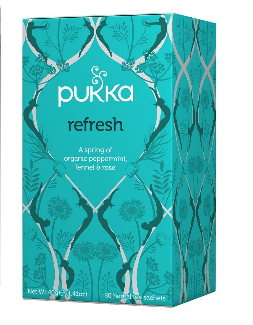 Pukka Refresh Te - 20 Posa