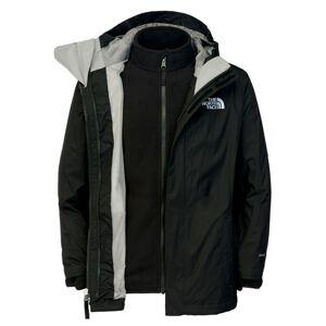 The North Face Girls Evolution Triclimate Jacket Black W Reflective Skaljacka Barn