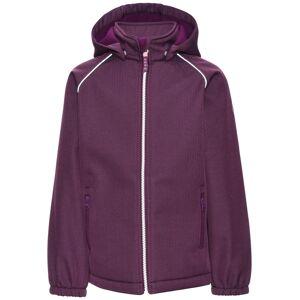 Name It Alfa Softshell Jacket Dark Purple Barn Name it
