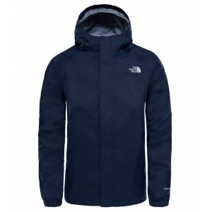 The North Face Boys Resolve Reflective Jacket Cosmic Blue Skaljacka Barn