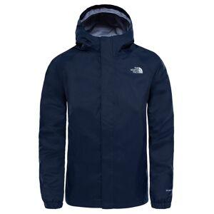 The North Face Boys Resolve Reflective Jacket Cosmic Blue Skaljacka Barn