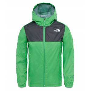 The North Face Boys Zipline Rain Jacket Classic Green Skaljacka Barn