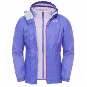 The North Face Eliana Girls Rain Triclimate Jacket Starry Purple Skaljacka Barn