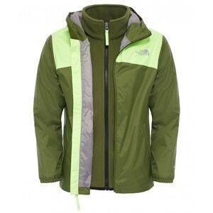 The North Face Elden Boys Rain Triclimate Jacket Scallion Green Skaljacka Barn