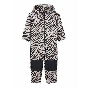 Name it Alfa Softshelloverall Baby Zebra