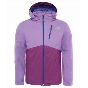 The North Face Youth Snowdrift Jacket Purple The North Face Skidjacka Junior