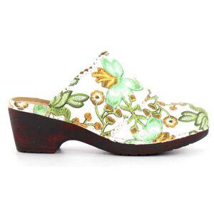 Polecat Slip-ins 444-2012 vit/blomma