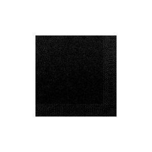 Duni Servett Duni 33x33 3-Lag Svart 125st/fp