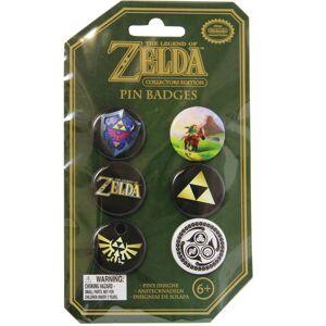 Paladone Legend of Zelda - Pins 6-Pack Badges