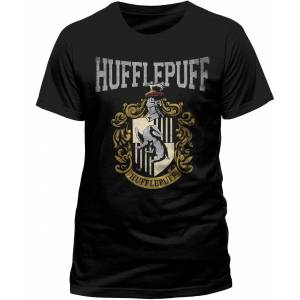 CID Harry Potter - Hufflepuff Varsity Crest T-Shirt