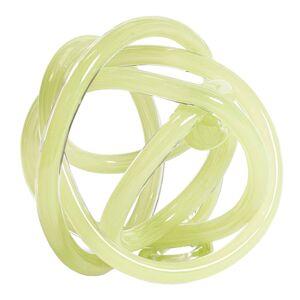 Hay Glasskulptur Knot No 2 L Ljusgrön