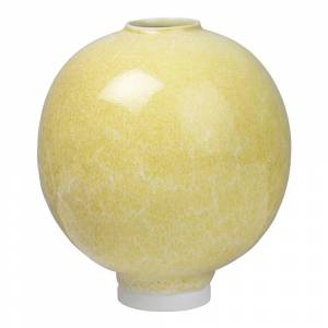 Kähler Design Unico Vas 17 cm Ockra