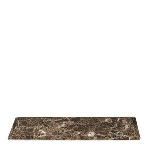 Blomus Pesa Bricka Marmor 33x12 cm Brun