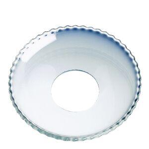 Nybro Crystal Ljusmanchett 6,5 cm Klar/pärlkant