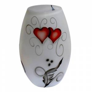 Nybro Crystal Crystal Ink Vas 20 cm Heart