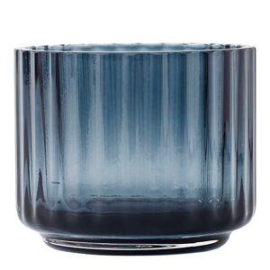 Lyngby Porcelain Lyngby Ljuslykta liten glas Blå