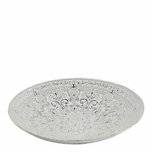 Nybridge Piastrelle Fat Silver 40 cm