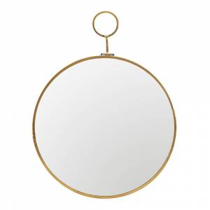 House Doctor Loop Spegel Mässing 22 cm