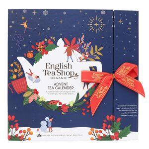 English Teashop Advent Tea Calendar Eko Blå