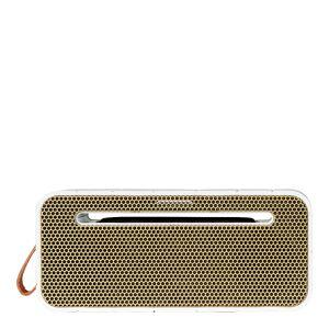 Kreafunk aMove Högtalare Bluetooth med Powerbank Vit/Guld