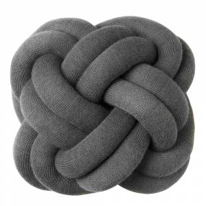 Design House Knot Kudde 30 cm Grå