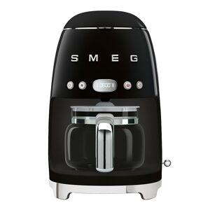 SMEG Retro Kaffebryggare Svart