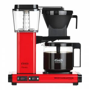 Moccamaster Kaffebryggare Röd