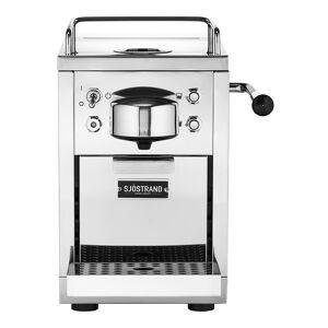 Sjöstrand Espressomaskin för kapslar Rostfri