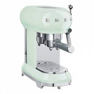 SMEG Retro Espressomaskin Grön