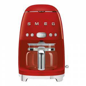 SMEG 50's Style Kaffebryggare Röd