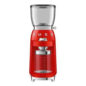 SMEG Retro Kaffekvarn Röd