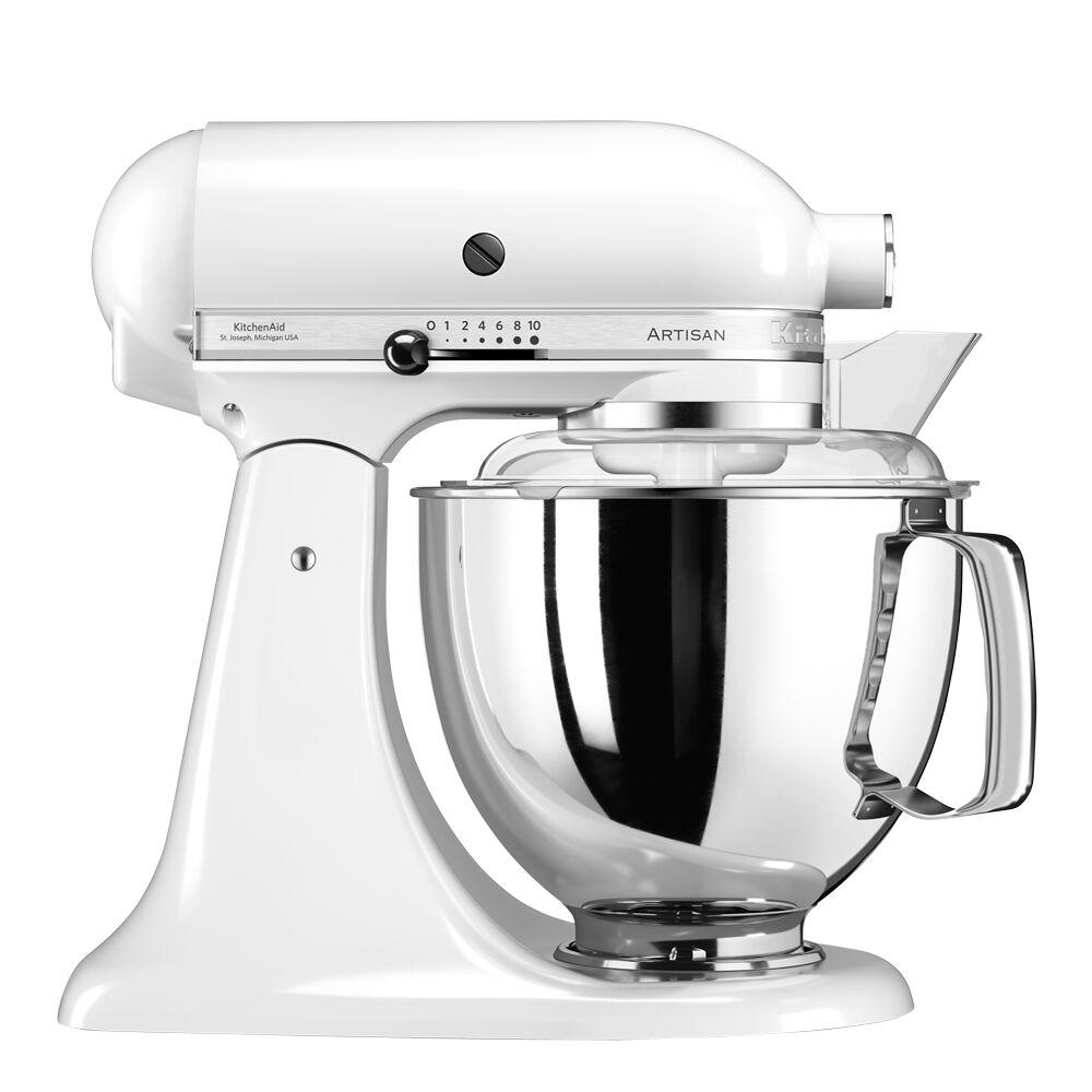 KitchenAid Artisan Köksmaskin 4,8 L + tillbehör Vit