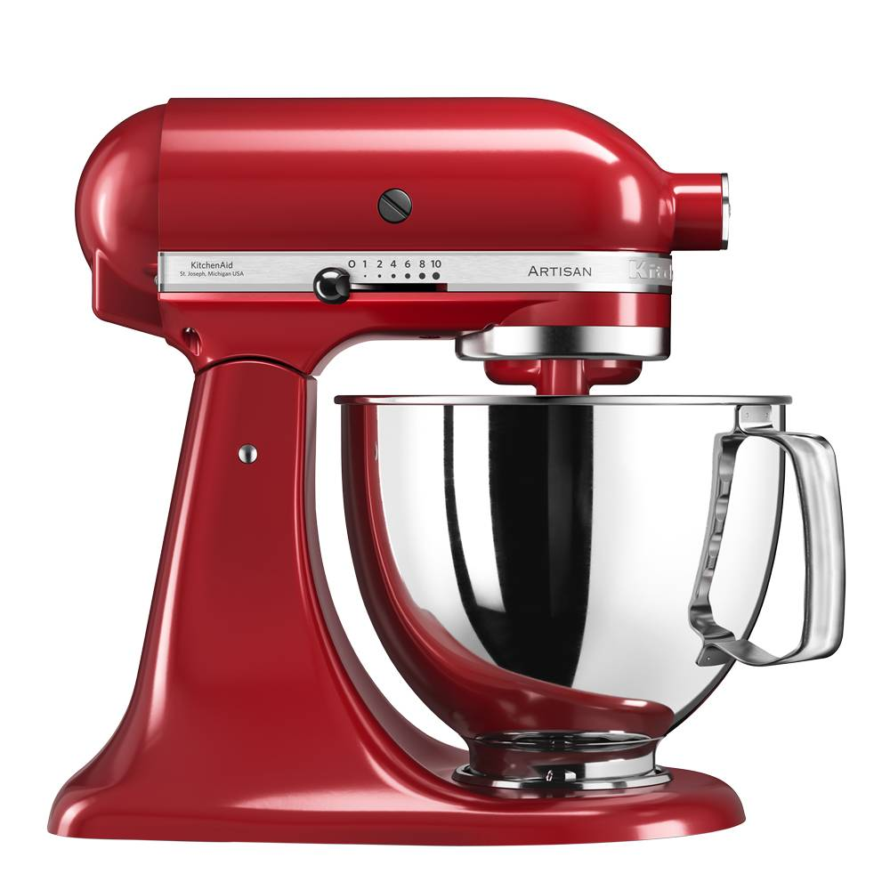 KitchenAid Artisan Köksmaskin 4,8 L Röd