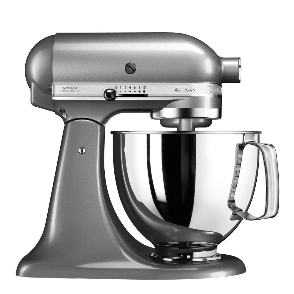 KitchenAid Artisan Köksmaskin 4,8 L Contour Silver