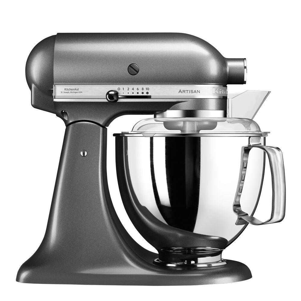KitchenAid Artisan Köksmaskin 4,8 L + tillbehör Grafit metallic