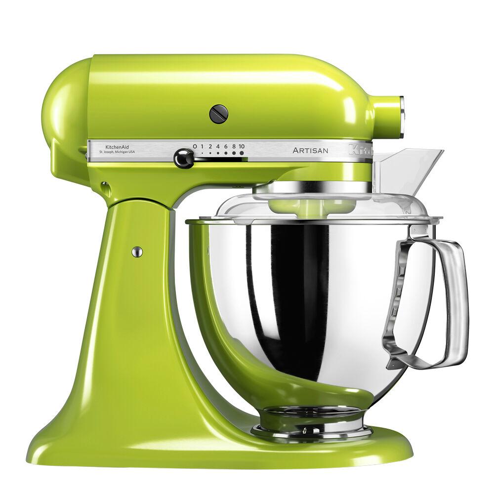 KitchenAid Artisan Köksmaskin 4,8 L + tillbehör Äppelgrön