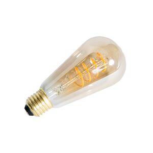 Calex Uppsättning av 3 LED-vridna glödlampor Rustik E27 240V 4W 200lm dimbar