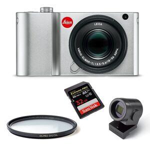 Leica TL2 Silver+ 18-56 + Visoflex+ UV + 32GB