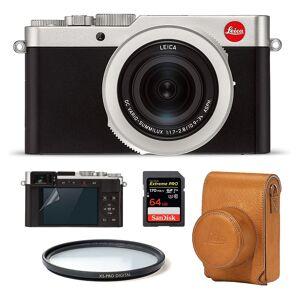 Leica D-Lux 7 Startpaket (Brun väska)