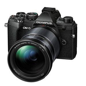 Olympus OM-D E-M5 Mark III + 12-200/3,5-6,3 Svart